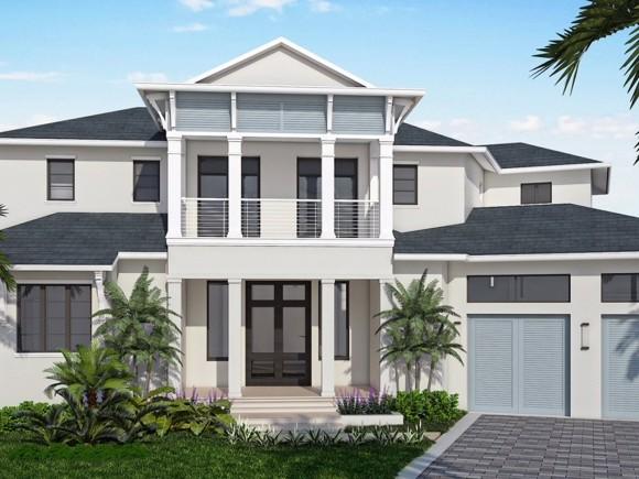 Новая постройка для того Продажа на 424 River Court Marco Island, Флорида,Соединенные Штаты