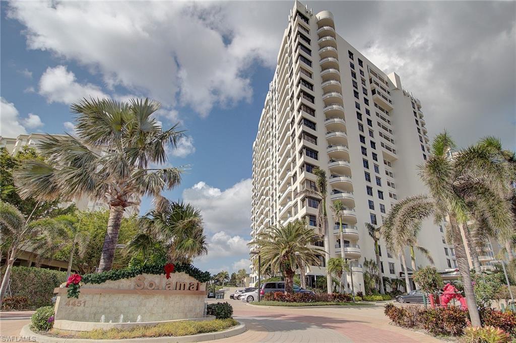Новая постройка для того Аренда на 4451 Gulf Shore Blvd N 202 Naples, Флорида,Соединенные Штаты